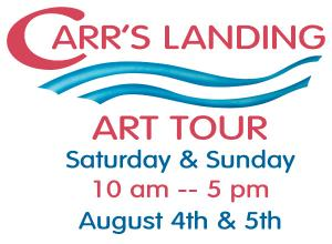 Carr's Landing Art Tour, August 4th and 5th, 2012, in Lake Country, BC.
