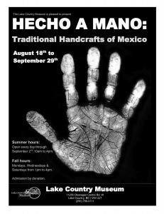 Hecho a Mano: traditional handcrafts of Mexico