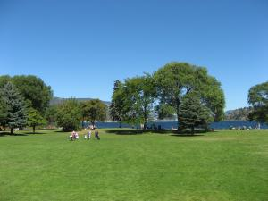 Beasley Park in the Winfield area of Lake Country, BC