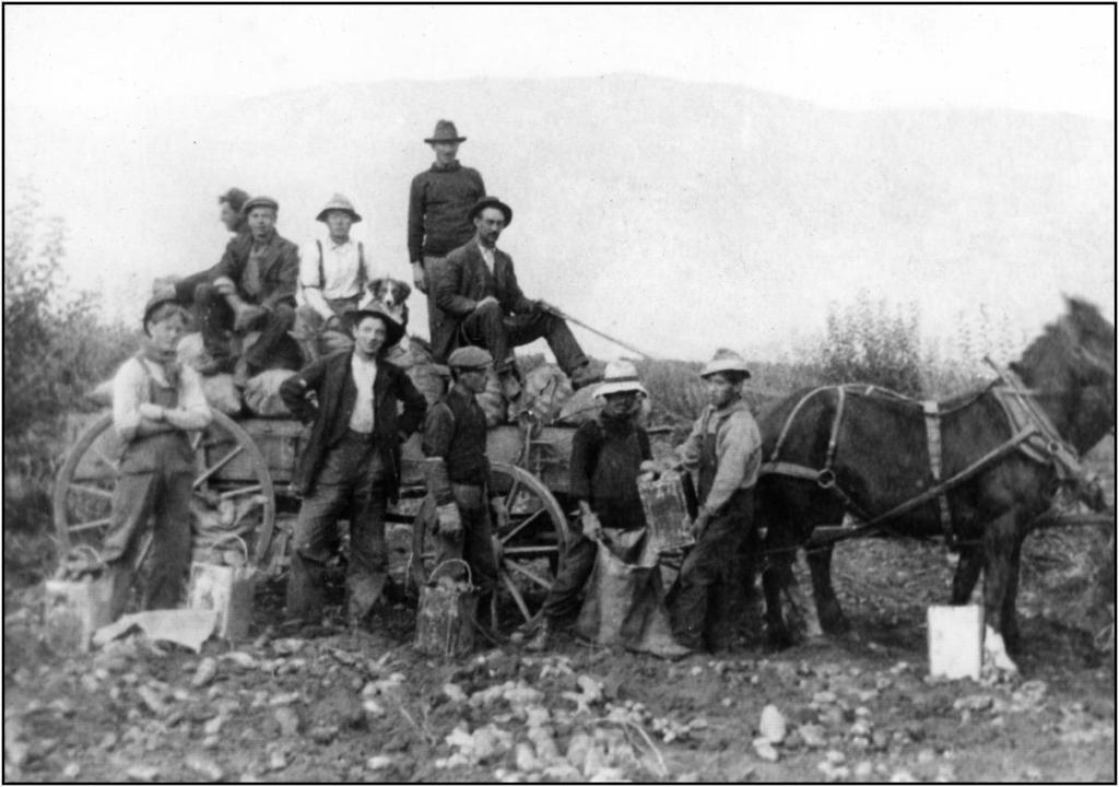 Crew at Rainbow Ranche