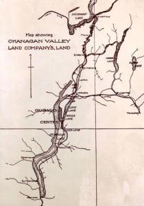 Okanagan Valley Land Company map, 1906