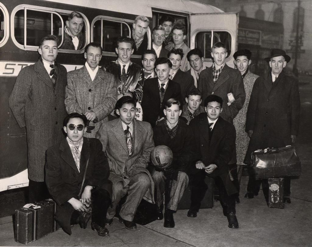 Rutland High School Soccer Team, 1949-50