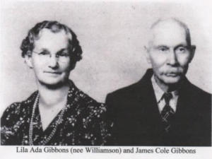 Lila and James Gibbons
