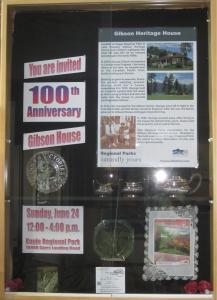 Gibson Heritage House Display