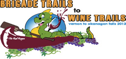 Brigade Trails to Wine Trails logo
