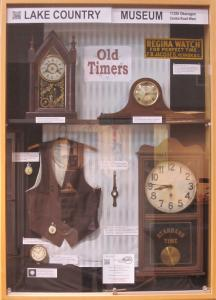 Old Timers display at the District of Lake Country municipal office