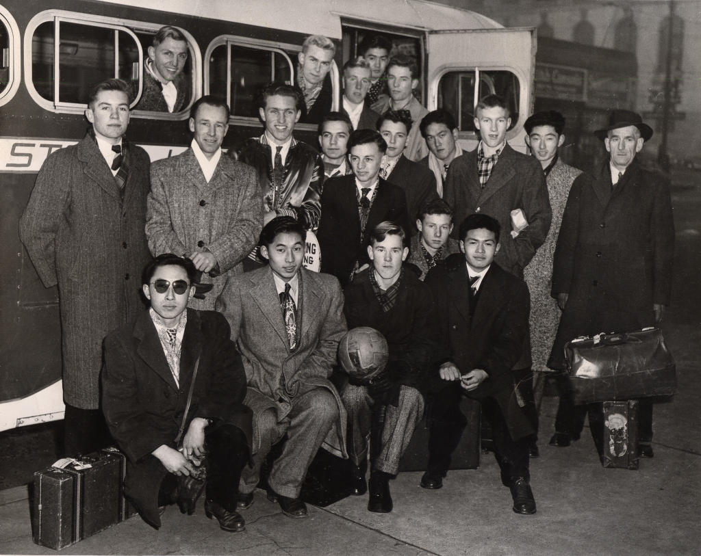 Rutland High School Soccer Team, 1949-50