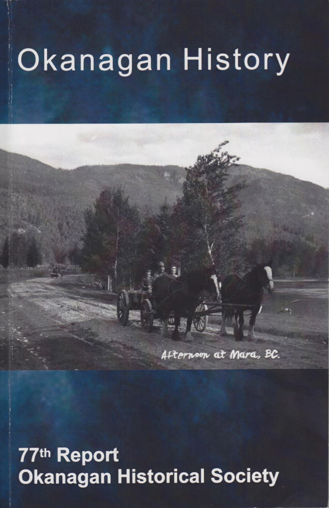 77th Annual Report of the Okanagan Historical Society