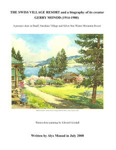 The Swiss Village Resort