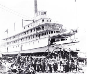 SS Sicamous 1914