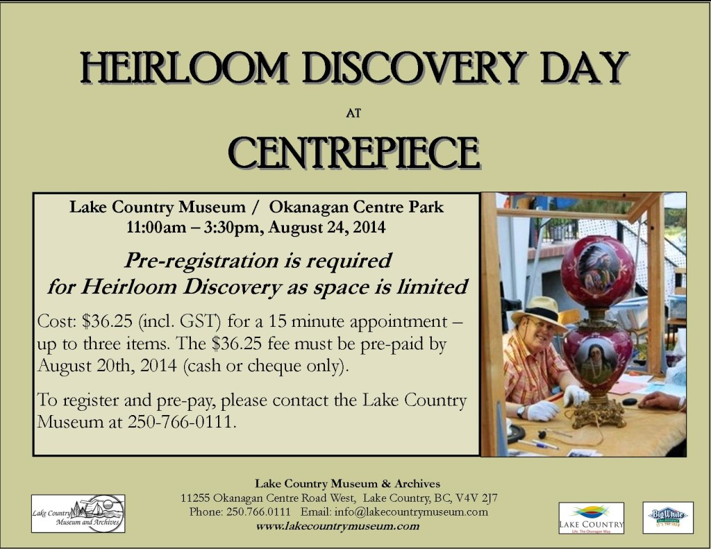 Heirloom Discovery Day