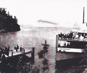 Nahun wharf, 1915