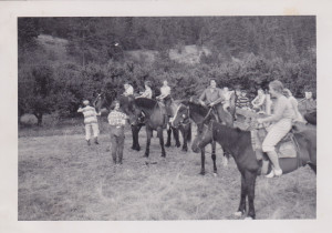 Horseback riding at Camp Kopje