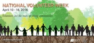 2016 National Volunteer Week