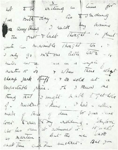 Letter from Dorothea Allison to Milborough Mackay, 24 August [1915]