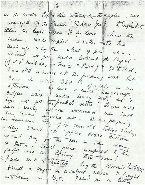 Dorothea Allison to Milborough Mackay 7 October [1916],