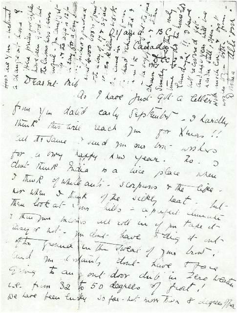 Dorothea Allison to Milborough Mackay, 2 December [1917]