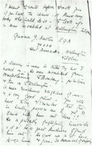 Dorothea Allison to Milborough Mackay 4 February [1917]