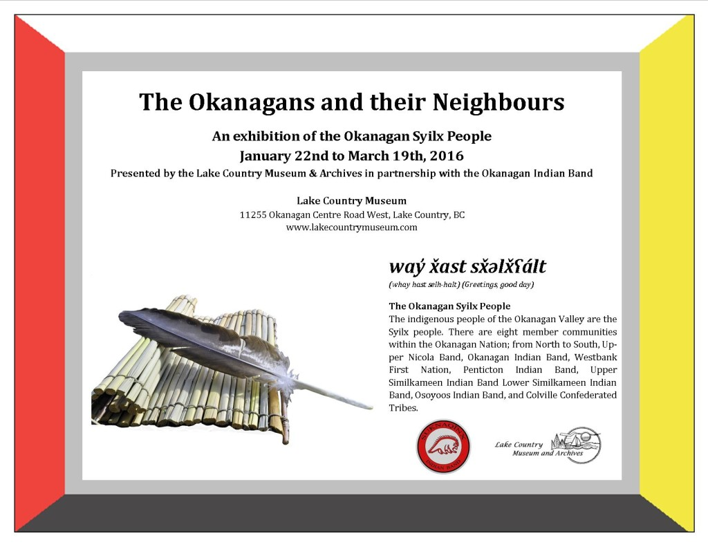 The Okanagans and their Neighbours