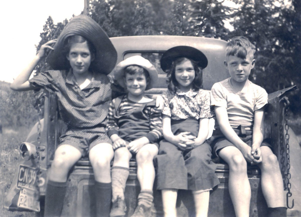 The Children of John James and Dora Carney
