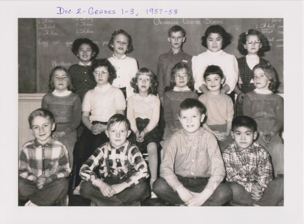 Grades 1 - 3, Okanagan Centre School
