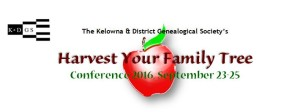 Harvest your Family Tree