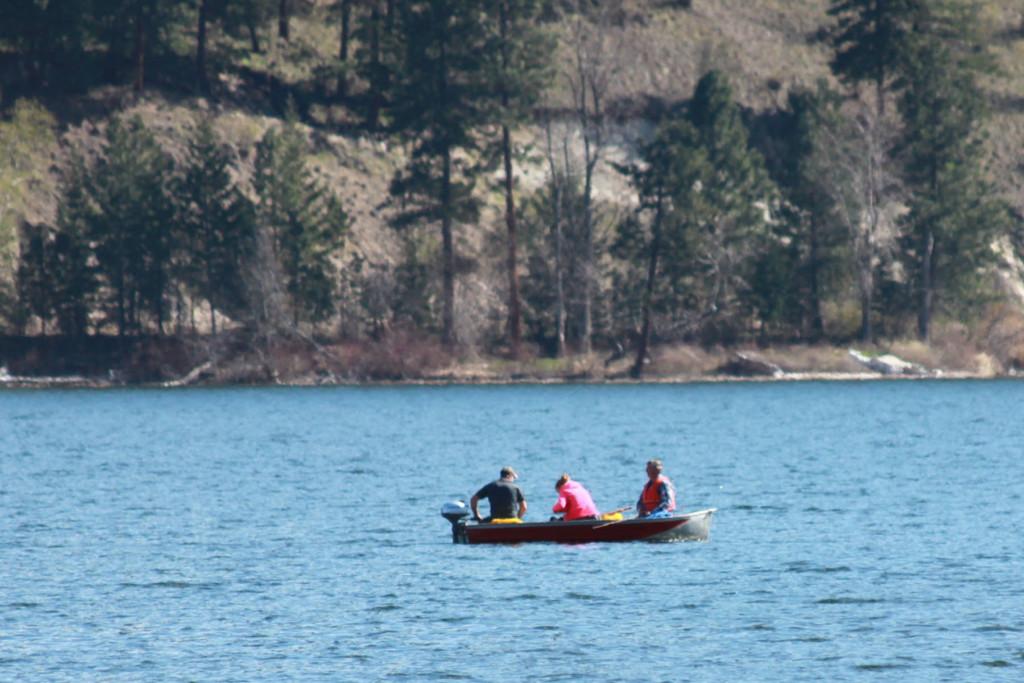Fishing on Wood Lake