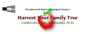 Genealogy Conference