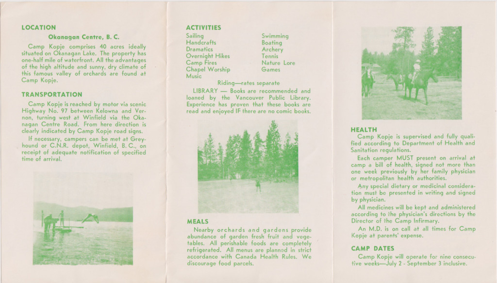 Camp Kopje brochure 2