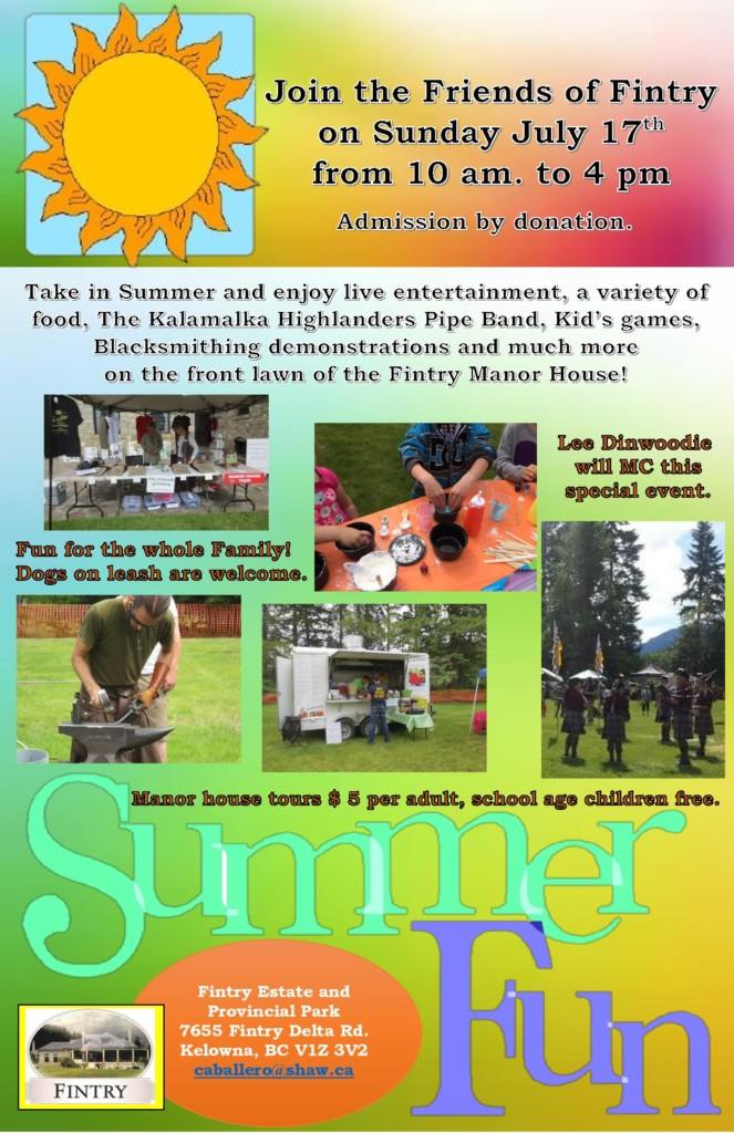 Fintry Summer Fair