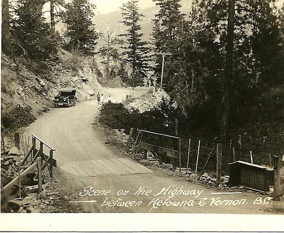 Highway 97 in 1917