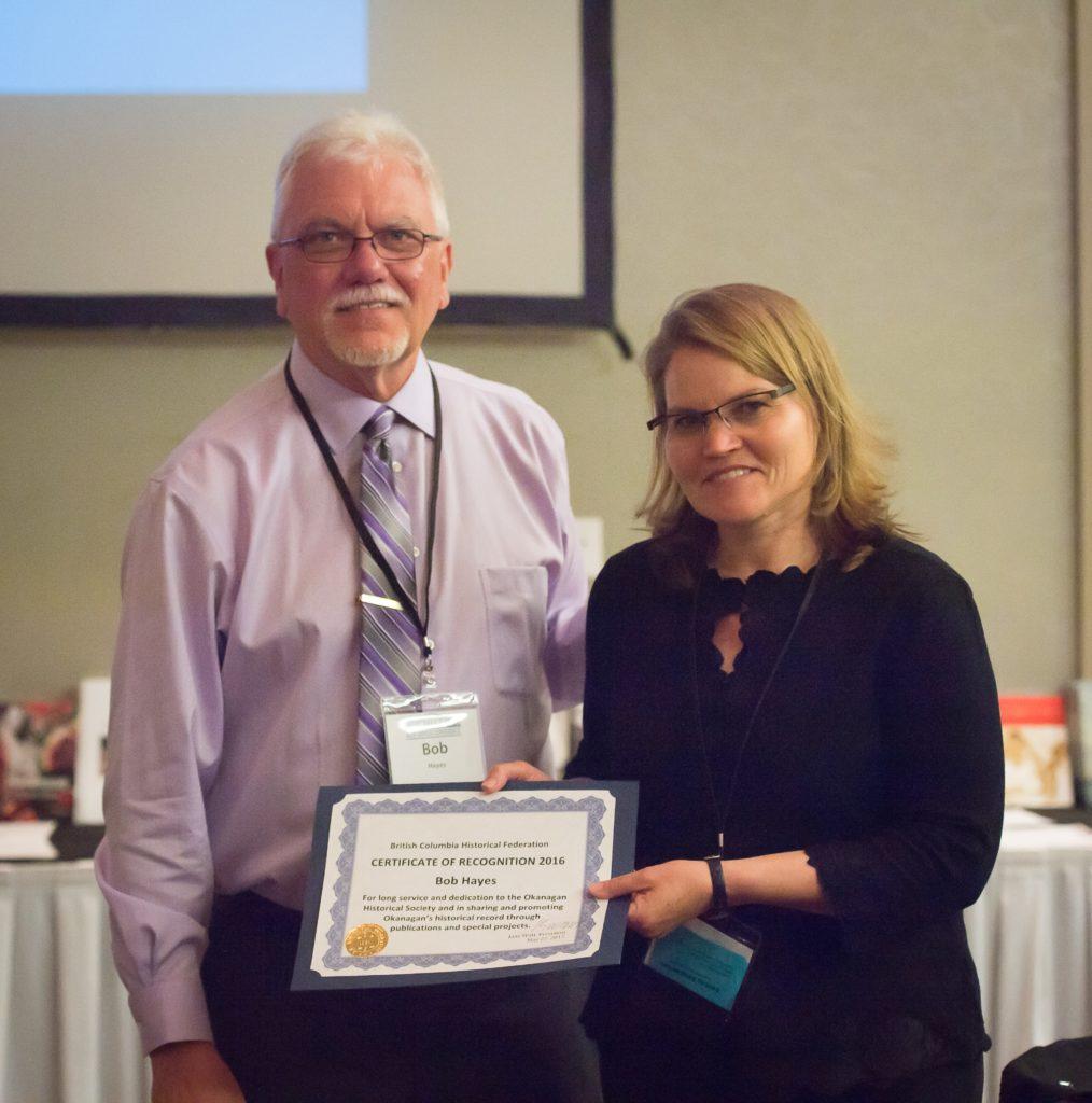 BCHF Heritage Award