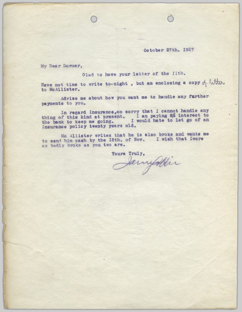 Rainbow Ranche correspondence