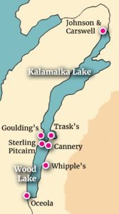 Landings on Kalamalka Lake