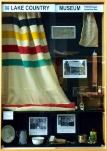 Wentworth Cabin display