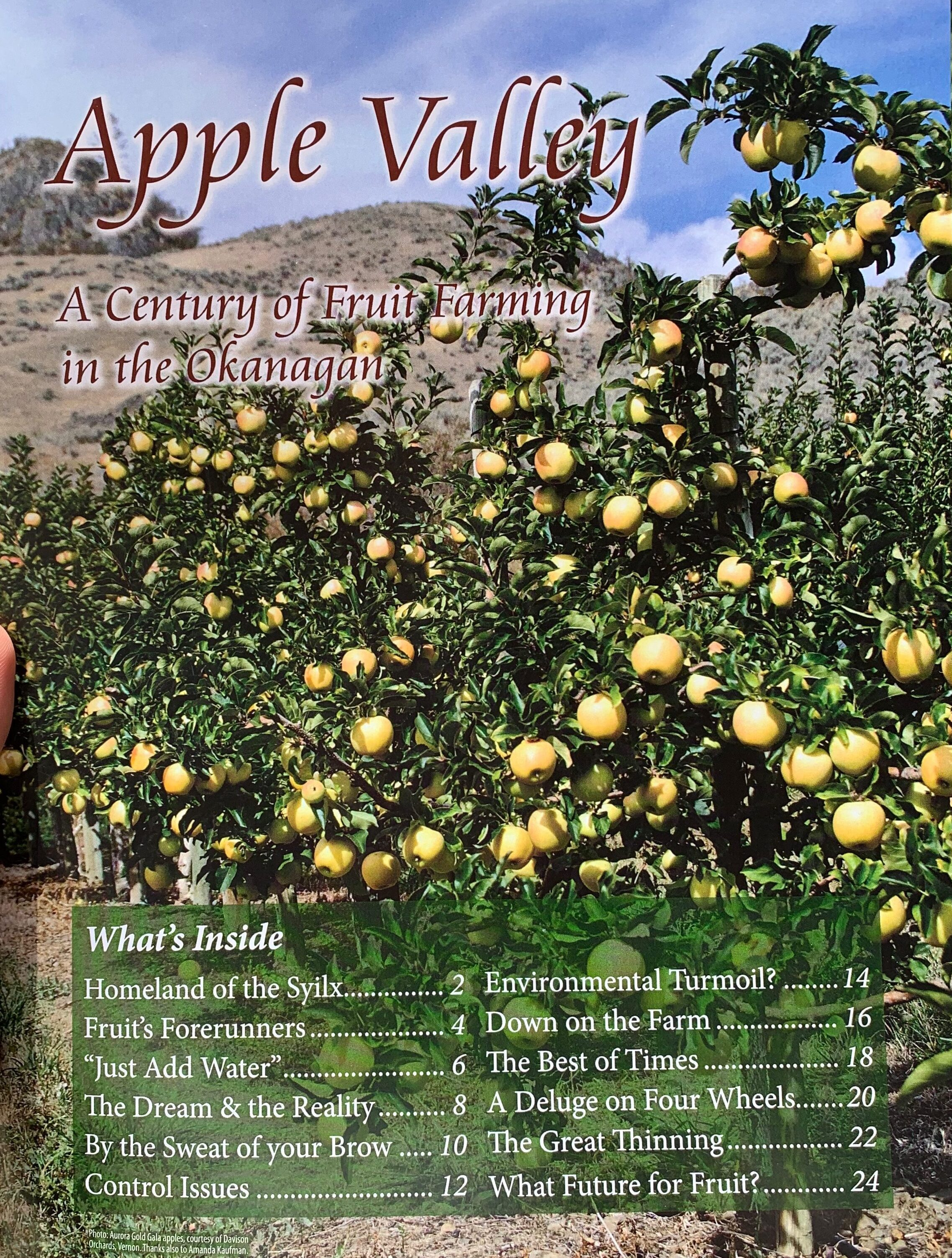 Apple Valley: A Century of Fruit Farming in the Okanagan